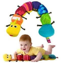 New Lamaze Learning Curve Caterpillar Inch Worm 24″ Plush Musical Baby Toy US