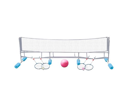 Poolmaster 72708 Super Combo Water Volleyball / Badminton Game