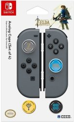 HORI Nintendo Switch Analog Caps (Legend of Zelda Edition) Set of Four Officially Licensed By Nintendo – Nintendo Switch