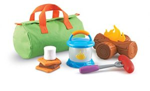 Learning Resources New Sprouts Camp Out!, 11 Pieces