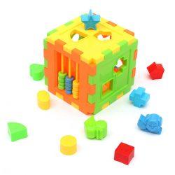 Kid Puzzle Magic Cube Educational Building Block Toys Shape Sorter Develop Gift