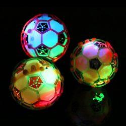 Child LED Light Jumping Ball Soccer Music Singing Soccer Kids Toddler Baby Toy
