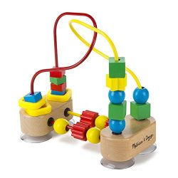 Melissa & Doug First Bead Maze – Wooden Educational Toy