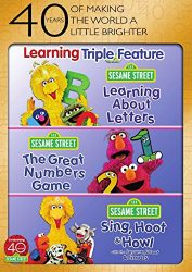 Sesame Street: Learning Triple Feature (Learning About Letters / The Great Numbers Game / Sing, Hoot & Howl)