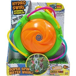 Tidal Storm Hydro Swirl Spinning Sprinkler Outdoor Toy