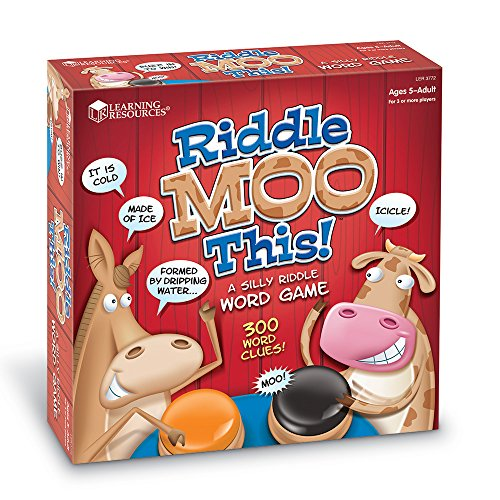Learning Resources Riddle Moo This – A Silly Riddle Word Game