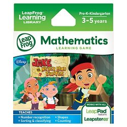 LeapFrog Disney Jake and the Never Land Pirates Learning Game