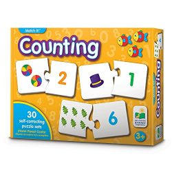 The Learning Journey Match It! – Counting – Self-Correcting Number & Learn to Count Puzzle