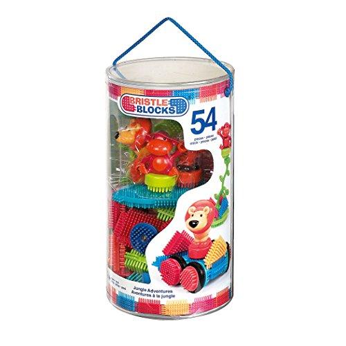 BRISTLE BLOCKS By BATTAT Bristle Blocks Toy Building Blocks for Toddlers (54 pieces)