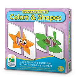 The Learning Journey My First Match It – Colors and Shapes – 15 Self-Correcting Matching Puzzles for Preschoolers