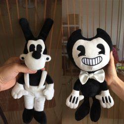 Bendy Boris Alice Angel Plush Toy Soft Stuffed Figure Dolls for Kids Gift