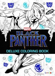Bendon 42121 Marvel Advanced Coloring Book, Black Panther