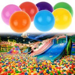 200Pcs 5.5/7/8cm Colorful PE Ocean Ball Soft Baby Kids Funny Swim Pit Pool Toy