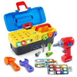 Toddler Boy Toys Learning Drill Toolbox Electronic Educational Development Game