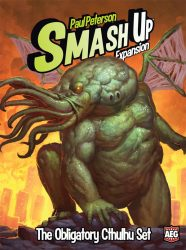 Smash Up Obligatory Cthulhu Set Expansion Deck Building Card Game From AEG 5503