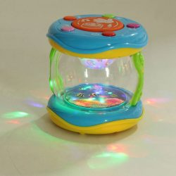 Mini Magic LED Music Hand Drum Children Infant Early Developmental Toys  Ef