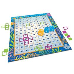 Learning Resources Make a Splash 120 Mat Floor Game, 136 Pieces