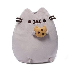 GUND Pusheen Snackable Cookie Stuffed Animal Plush, 9.5″
