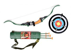 Sunny Days Entertainment Maxx Action Hunting Series Toy Archery Bow & Arrow Set with Target and Accessories
