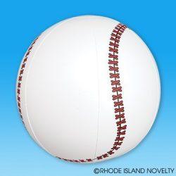 5STARS N&R 788490276173 1DZ 16 Inches Inflatable Baseballs-Birthday Favors Decor-Beachball Fun-Spors Themed Pool Party Toy