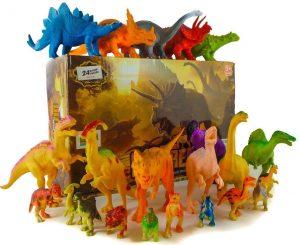 24 Dinosaur Toys For 3, 4, 5, 6, 7 year old Boys Girls Toddlers Kids – Enjoy