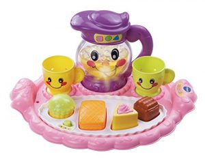 VTech Learn & Discover Pretty Party Playset,Pink
