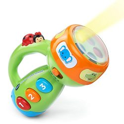 VTech Spin & Learn Color Flashlight – Lime Green – ONLINE EXCLUSIVE