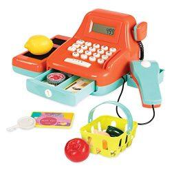 Battat Toy Cash Register for Kids (26 pieces)