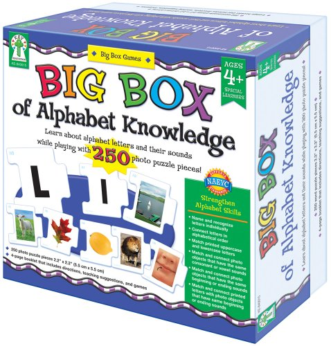 Key Education Big Box of Alphabet Knowledge
