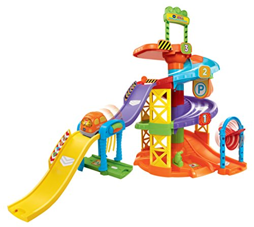 VTech Go! Go! Smart Wheels Spinning Spiral Tower Playset