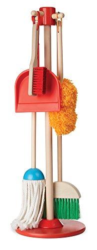 Melissa & Doug Let's Play House Dust! Sweep! Mop! 6-Piece Pretend Play Set