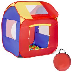 Portable Kid Baby Play House Toy Tent Game Playhut 100 Balls Indoor Outdoor
