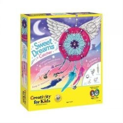 Creativity for Kids Make Your Own Sweet Dreams Catcher Weaving Kit