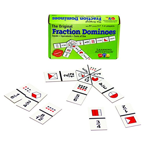 Learning Advantage The Original Fraction Dominoes Game – Fraction Learning Game