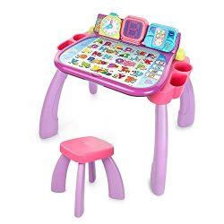 VTech Touch & Learn Activity Desk – Purple – ONLINE EXCLUSIVE