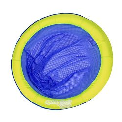 Swimways Spring Float Papasan Pool Chair, Lime / Dark Blue