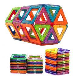 50Pcs Magnetic Building Blocks Construction Children Toys Educational Block Kids