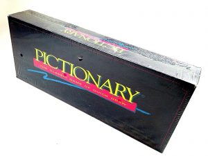 Sealed 1993 Vtg Pictionary Drawing Board Game Party Updated For 1990s Quick Draw