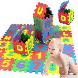 36Pc Baby Kid Play Mats Alphabet Number Soft Foam Floor Mat Puzzle Children Gift