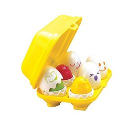 Tomy International Hide N Squeak Eggs Preschool Toy