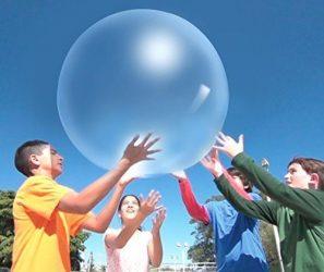 WUBBLE The Amazing Tear-Resistant Super Bubble Ball with Pump – Boing Blue
