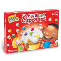 NEW | Sorting Shapes Cupcakes: Shape Game by Learning Resources | FREE SHIPPING