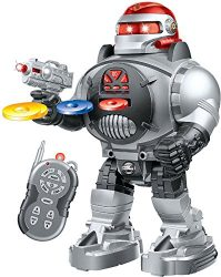 Thinkgizmos Remote Control Robot For Kids – RoboShooter Robot Toy For Boys & Girls Aged 5