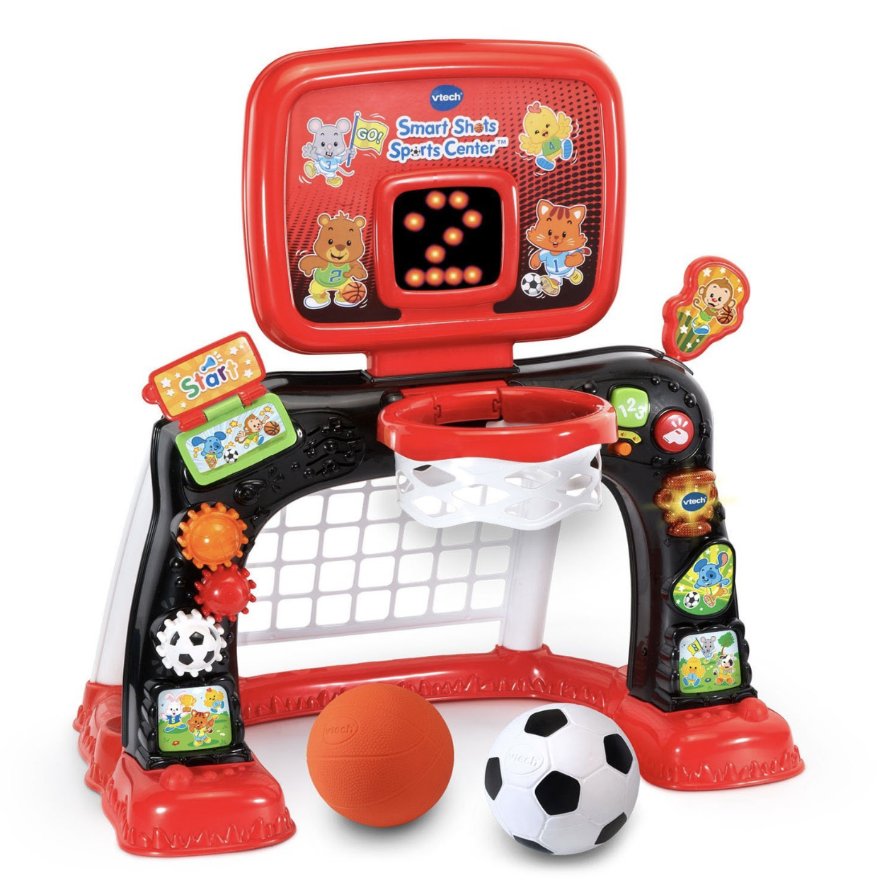 Educational Toys For 1-3 Year Old Toddler Boy Basketball ...