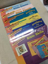 Lot Educational Insights Geo Safari Learning Game Cards ~ BIBLE ~ 6 SETS SEALED
