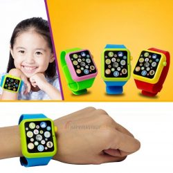 Child Kids Toddler Educational Smart Wrist Watch Learning Touch Screen Toy Games