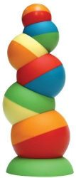 Fat Brain Toys Tobbles Balancing Toy Stacking Baby Toys Learning