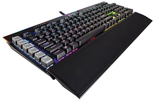 CORSAIR K95 RGB PLATINUM Mechanical Gaming Keyboard – USB Passthrough & Media Controls – Fastest Cherry MX Speed – RGB LED Backlit – Black Finish