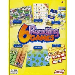 6 Reading Games by Junior Learning  – 6 Reading Games