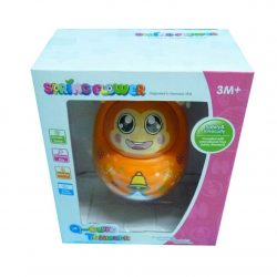 Roly-poly Toy Nodded Tumbler Educational Baby Toy with Sound – Monkey- Kid Gift